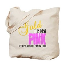 Gold: The New Pink Tote Bag