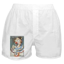 Painted Clown Boxer Shorts