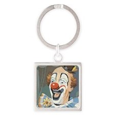 Painted Clown Keychains