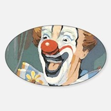 Painted Clown Decal