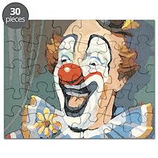 Painted Clown Puzzle