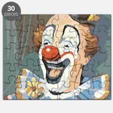 Painted Clown Puzzle