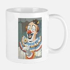 Painted Clown Mug