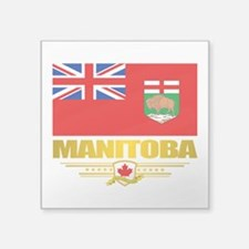 Manitoba Flag Sticker