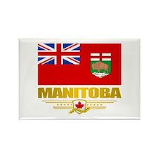 Manitoba Flag Rectangle Magnet