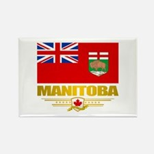 Manitoba Flag Rectangle Magnet