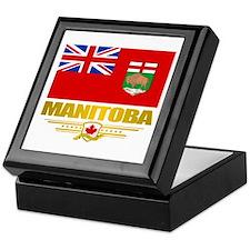 Manitoba Flag Keepsake Box