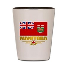 Manitoba Flag Shot Glass