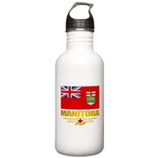 Manitoba Flag Water Bottle