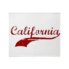 califonria Throw Blanket