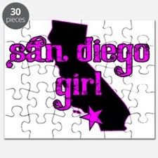san diego girl shirt Puzzle