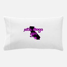 san diego girl shirt Pillow Case