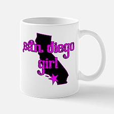 san diego girl shirt Mug