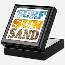 Surf, Sun, Sand Keepsake Box