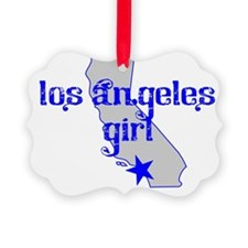 los angeles girl shirt Ornament