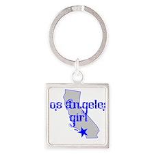 los angeles girl shirt Keychains