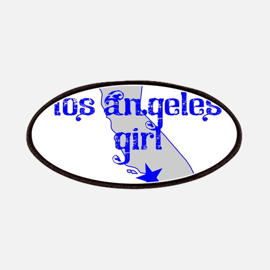 los angeles girl shirt Patches