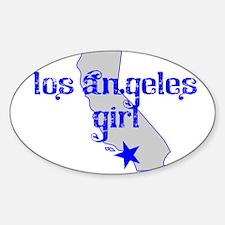 los angeles girl shirt Decal