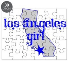 los angeles girl shirt Puzzle