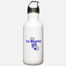 los angeles girl shirt Water Bottle