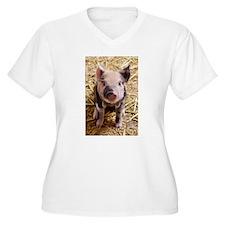 This Little Piggy Plus Size T-Shirt