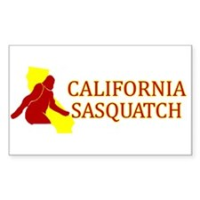 CALIFORNIA SASQUATCH Decal