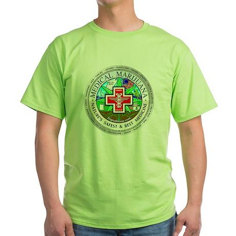 Medical Marijuana Green T-Shirt