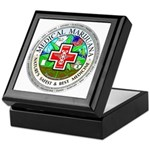 Medical Marijuana Keepsake Box
