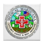 Medical Marijuana Tile Coaster