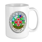 Medical Marijuana Large Mug Mugs