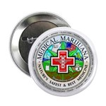 "Medical Marijuana 2.25"" Button (10 pack)"