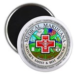 "Medical Marijuana 2.25"" Magnet (100 pack)"