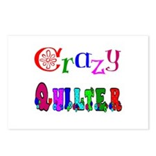 Crazy Quilter Postcards (Package of 8)