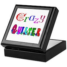 Crazy Quilter Keepsake Box