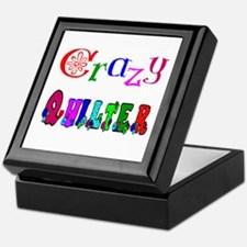 Crazy Quilter Keepsake Box
