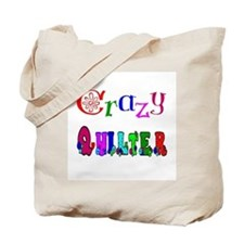 Crazy Quilter Tote Bag