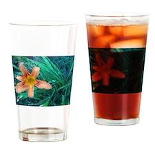 Day Liliiy Drinking Glass