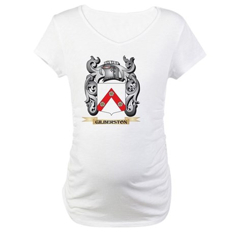 Gilberston Coat of Arms - Family Maternity T-Shirt