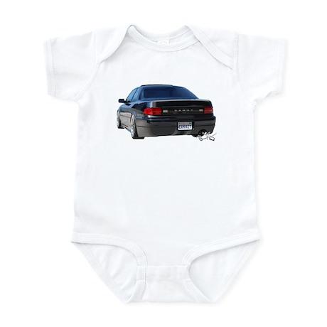 Gen 3 Coupe rear shot Infant Bodysuit