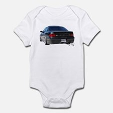 Gen 3 Coupe rear shot Infant Bodysuit