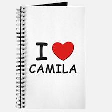 I love Camila Journal