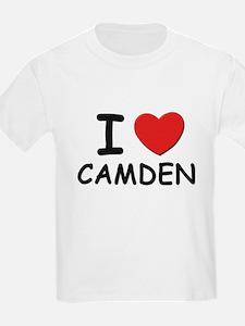 I love Camden Kids T-Shirt