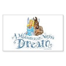 A Midsummer Night's Dream Rectangle Decal