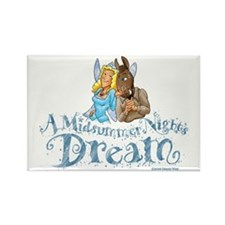 A Midsummer Night's Dream Rectangle Magnet