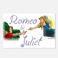Romeo and Juliet Postcards (Package of 8)