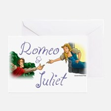 Romeo and Juliet Greeting Cards (Pk of 10)