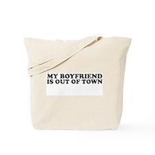 [my boyfriend...] Tote Bag