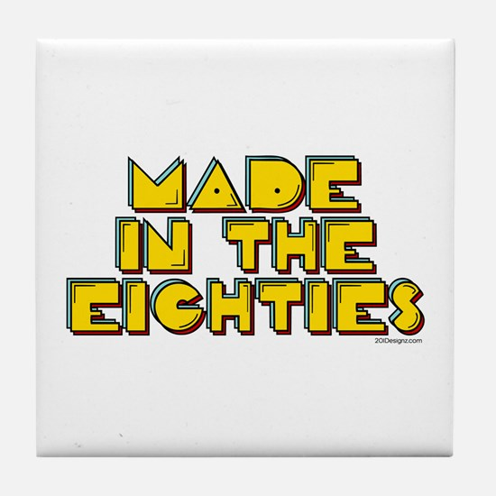 Made in the 80's Tile Coaster