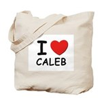 I love Caleb Tote Bag