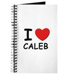 I love Caleb Journal